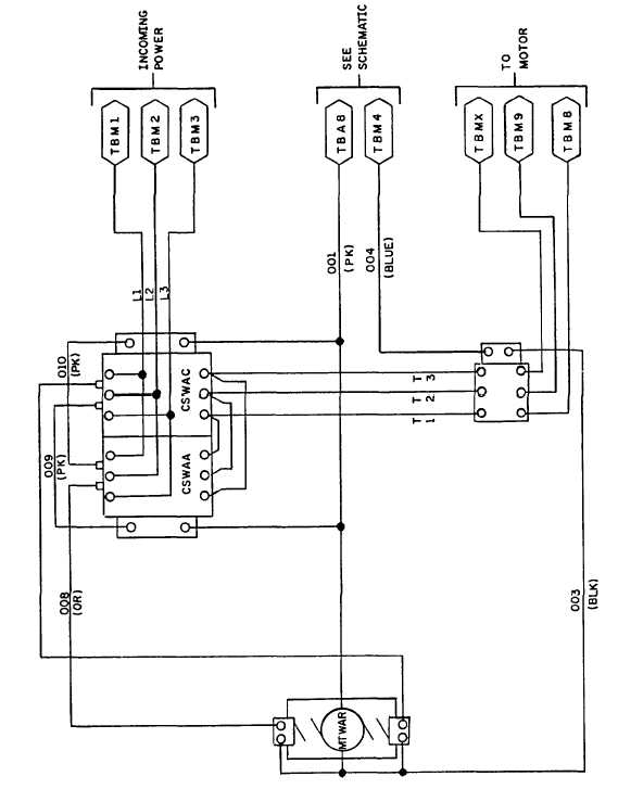 Figure 2 Run Circuit Schematic Diagram