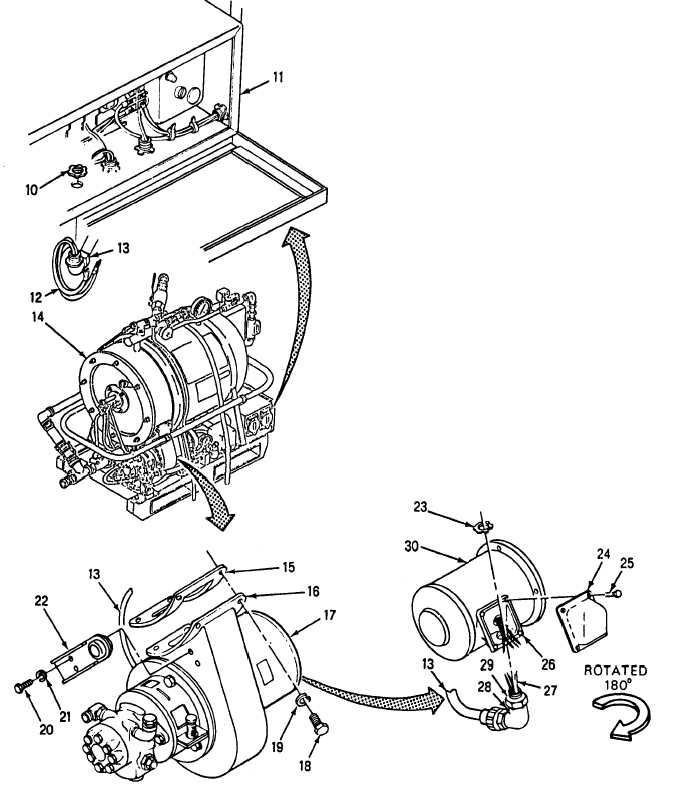 water heater blower motor assembly  cont